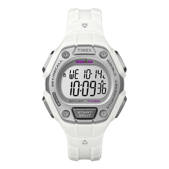 Timex Iroman Digital Watch Classic 30 Collection White