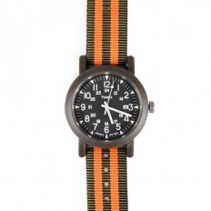 Timex Unisex Watch Only Time Weekender Collection Green/Orange