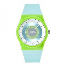 Kenzo Orologio Donna Solo Tempo Light Blue/Green