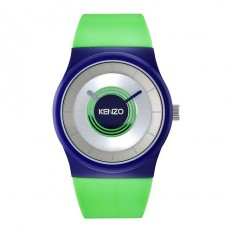 Kenzo Watch Unisex Only Time Blue/Green