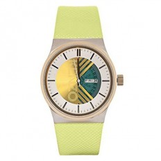 Kenzo Watch Woman Only Time Yellow
