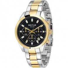 Sector Watch Man Chronograph 245 Collection Gold