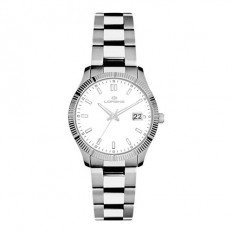 Lorenz Women's Watch Only Time Ginevra Collection White