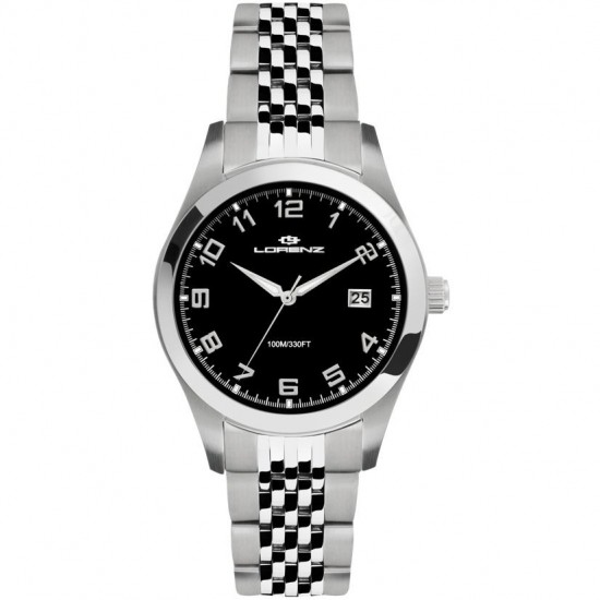 Lorenz Women's Watch Only Time Tortuga Collection Black