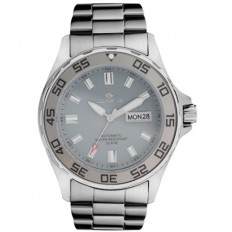 Lorenz Automatic Men's Watch Black/Grey 200mt