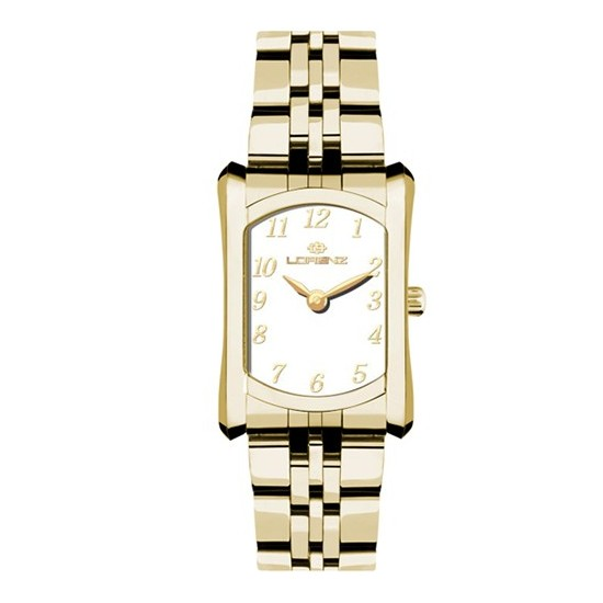 Lorenz Women's Watch Only Time Blue Moon Collection Gold