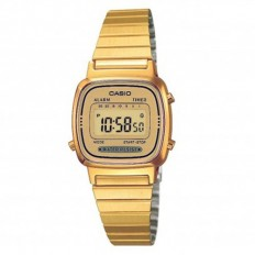 Casio Orologio Donna Digitale Vintage Golden