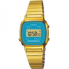 Casio Women's Digital Watch Vintage Green Water