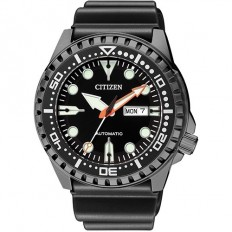 Citizen Men's Watch Automatic Only Time Marine Sport Black/Black
