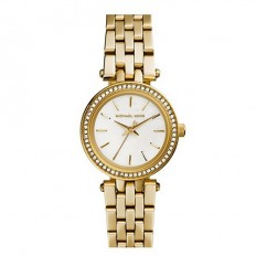 Michael Kors Women's Only Time Gold with Crystals