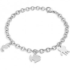 Sector Bracciale Donna Collezione Nature and Love 3 Silver