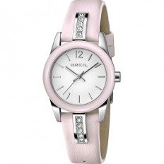 Breil Women's Watch Only Time Liberty Collection Pink