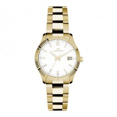 Lorenz Women's Watch Only Time Ginevra Collection Gold
