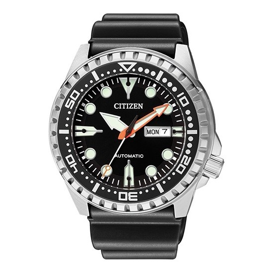 Citizen Men's Watch Automatic Only Time Marine Sport Silver/Black