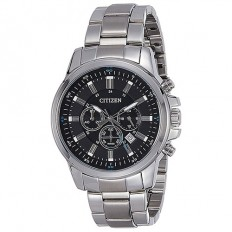 Citizen Men's Watch Chronograph Silver/Black