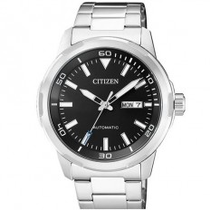 Citizen Men's Watch Automatic Only Time Silver/Black