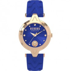Versus Versace Women's Watch Only Time Versus Logo Collection Blue