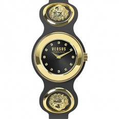 Versus Versace Women's Watch Only Time The Icon Black/Gold