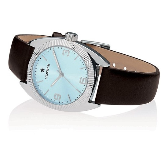 Hoops Women's Watch Only Time Nouveau Liberty Collection Brown