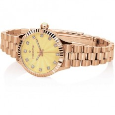 Hoops Women's Watch Only Time Luxury Collection Rose