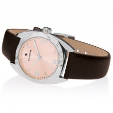 Hoops Women's Watch Only Time Nouveau Liberty Collection Brown/Rose