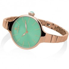 Hoops Women's Watch Only Time Nouveau Cherie Collection Green