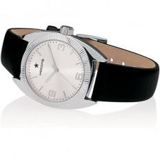 Hoops Women's Watch Only Time Nouveau Liberty Collection Black/Silver