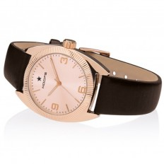 Hoops Women's Watch Only Time Nouveau Liberty Collection Brown/Rose Gold