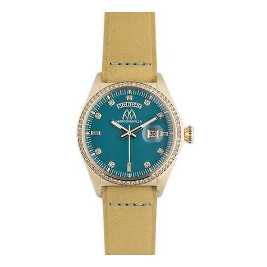Marco Mavilla Women's Watch Only Time Crystals Collection