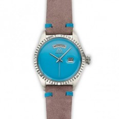 Marco Mavilla Women's Watch Only Time Rose/Turquoise