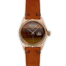 Marco Mavilla Women's Watch Only Time Brown/Brown