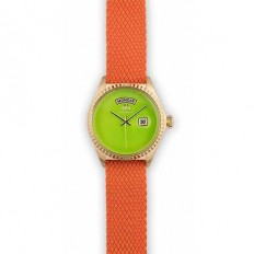 Marco Mavilla Orologio Donna Solo Tempo Orange/Green
