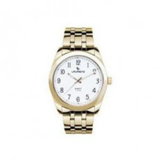 Laurens Watch Men Only Time Gold/White