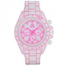 Marco Mavilla Digital Watch Digitona Collection White/Fucsia