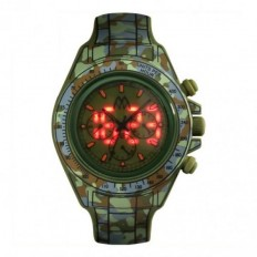 Marco Mavilla Digital Watch Digitona Collection Camouflage Green