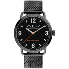 Alviero Martini Men's Watch Only Time ALV Collection Black