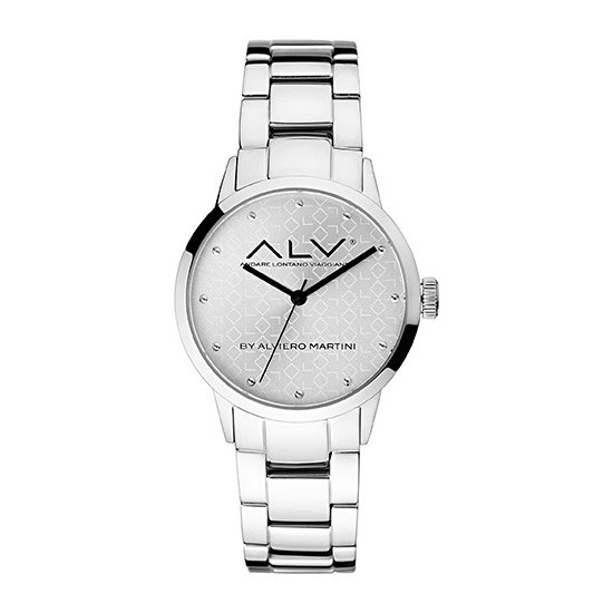 Alviero Martini Women's Watch Only Time ALV Collection Silver Crystals