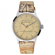Alviero Martini Men's Watch Only Time ALV Collection Beige