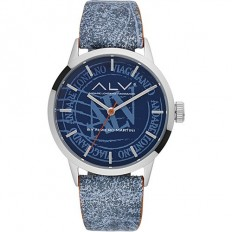 Alviero Martini Women's Watch Only Time ALV Collection Blue Fantasy