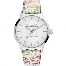 Alviero Martini Women's Watch Only Time ALV Collection White C