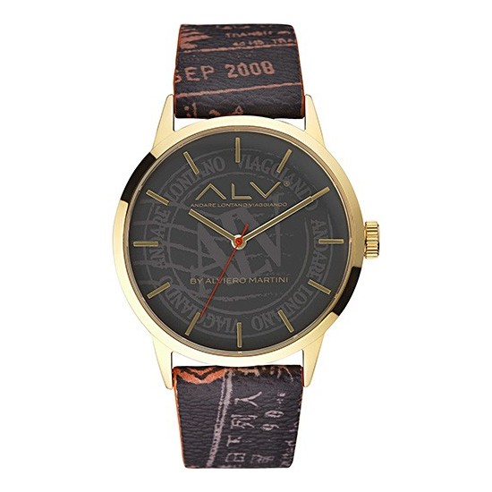 Alviero Martini Men's Watch Only Time ALV Collection Gold
