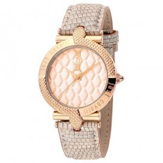 Just Cavalli Women's Watch Only Time Animals Collection Rose