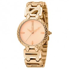 Just Cavalli Women's Watch Only Time Logo Collection Rose