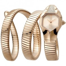 e6439bd191 Just Cavalli Women's Watch Only Time Glam Chic Collection Rose