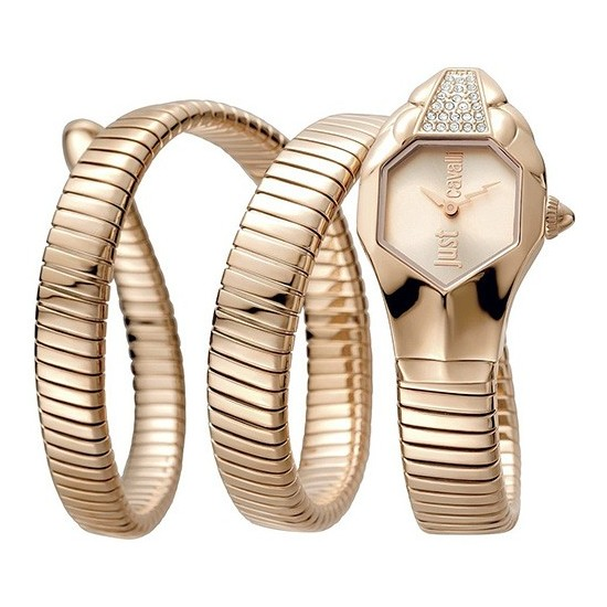 Just Cavalli Women's Watch Only Time Glam Chic Collection Rose