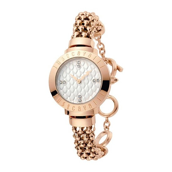 1ec3125cdc Just Cavalli Women's Watch Only Time Animals Collection Rose