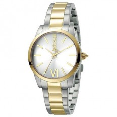 Just Cavalli Women's Watch Only Time Relaxed Collection Gold/Silver