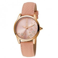 Just Cavalli Women's Watch Only Time Relaxed Collection Rose/Star