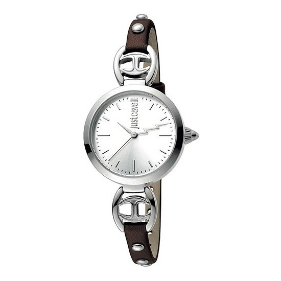 Just Cavalli Women's Watch Only Time Logo Collection Brown