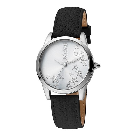 Just Cavalli Women's Watch Only Time Relaxed Collection Black/Star